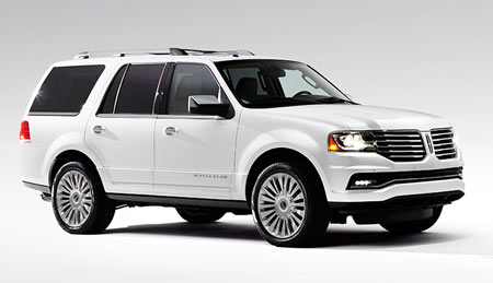 A redesigned exterior, updated interior, more powerful engine, additional customer-focused technologies and new luxurious appointments elevate Lincoln Navigator in the full-size luxury SUV market. (Lincoln)
