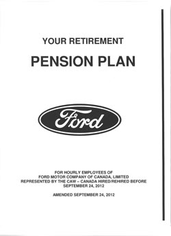 Pension Booklet