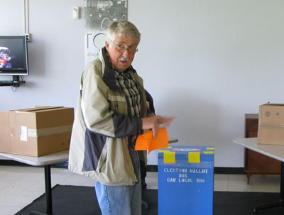 Retiree Voting