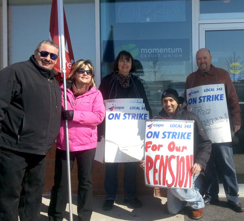 March 7, 2014 Brampton Credit Union