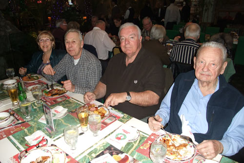 Sharon and Ken Burton, Reg Galbraith, Konrad Wilski
