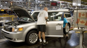 Auto maker says it is hurting following union's cost-cutting deals with rivals GM, Chrysler