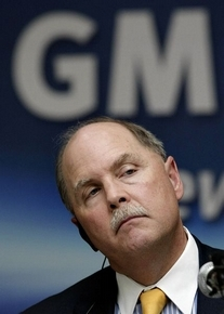 Fritz Henderson's status fell Nov. 2 when GM's board overruled selling control of its Opel carmaker in Germany. (Ahn Young-joon / Associated Press)