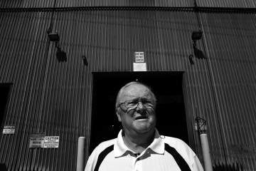 LeRoy Pickett, a retiree of Slater Steel in Hamilton, Ontario, Canada. Deborah Baic/The Globe and Mail