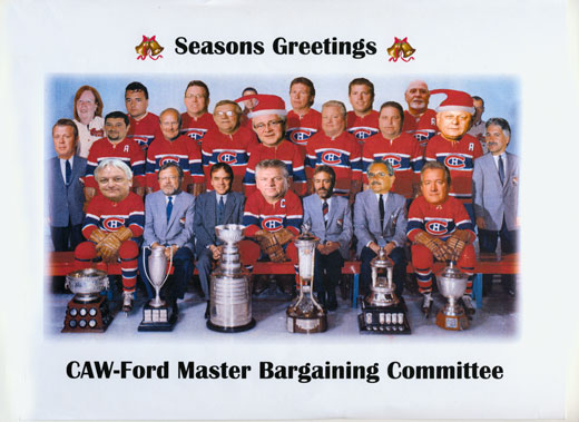CAW-Ford Master Bargaining Committee