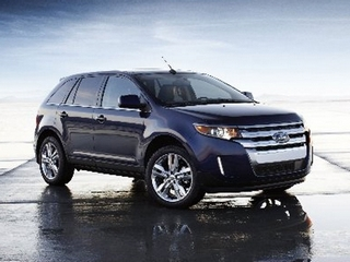 The 2011 Ford Edge is getting an exterior freshening as well as new technology. It will be sent from Canada to China. (Ford)
