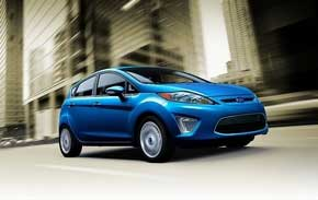 Ford has sold almost 4,400 2011 Fiestas to date, including 3,300 in July. (Sam VarnHagen / Ford Motor Co.)