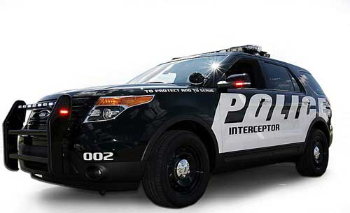 Ford's new Police Interceptor utility vehicle (Gary Malerba Special to The Detroit News)