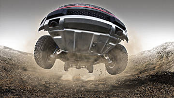 Fire-breathing F-150 SVT Raptor knows how to sink its claws into dirt