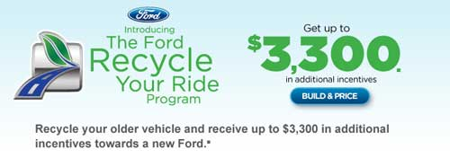 Ford Recycle Your Ride Program