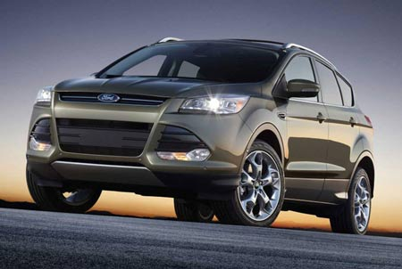 The 2013 Ford Escape answers demands for better styling and fuel economy, Ford says. (Ford)