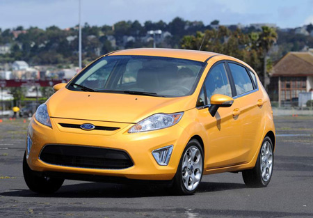 Ford won in two categories with its Fiesta subcompact, above, and F-150 light-duty pickup. (Ford)