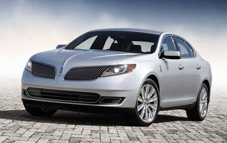 Better handling, efficiency and new features provide luxury customers reasons to consider Lincoln's flagship 2013 MKS sedan. (Lincoln)