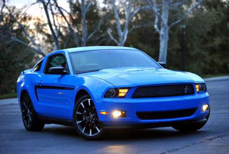 Consumer Reports named the Ford Mustang best sporty car. Ford was ranked fifth-best overall in the rankings, up from 11th last year. (Ford)