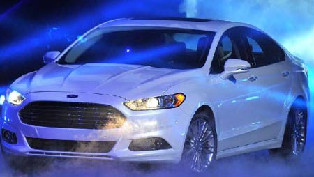 Ford showed off the 2013 Fusion last week at the press preview of the North American International Auto Show