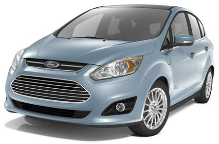 The base C-MAX Energi, priced at $29,995 after a federal tax credit of $3,750, will roll out nationally early next year. (Ford)