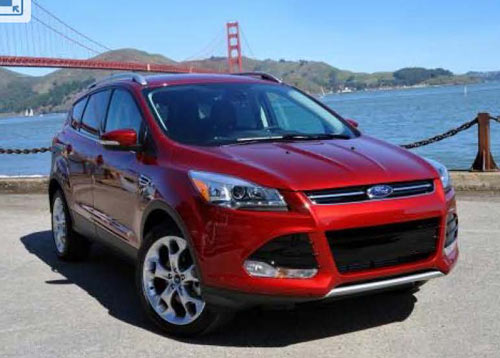 The all-new 2013 Ford Escape, launched in San Francisco, is scheduled to arrive at Ford dealers soon