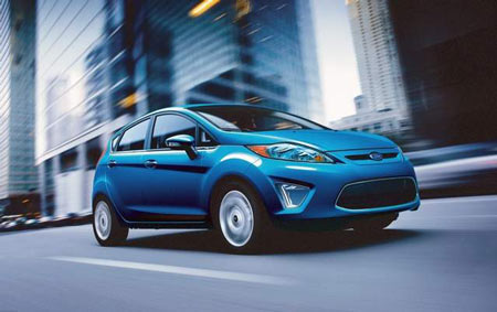 Ford recalled its 2011-13 Fiesta subcompacts because of a problem where the rear right seat side air bag may not inflate in a crash. (Ford)