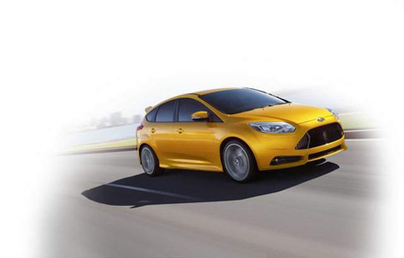 Hatches like the 252-hp Ford Focus ST are drawing attention from driving enthusiasts. (Ford)