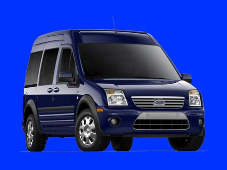 The new Ford Transit diesel will be an alternative to the Transit's 3.5-liter EcoBoost V-6 engine. (Ford)
