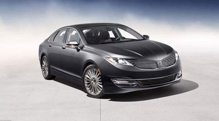 The 2013 Lincoln MKZ (preproduction model shown) is the first milestone vehicle for the all-new Lincoln brand created by the dedicated Lincoln team in its new Design Studio. / Courtesy image