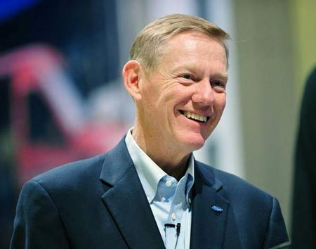 Ford Motor Co. paid President and Chief Executive Officer Alan Mulally