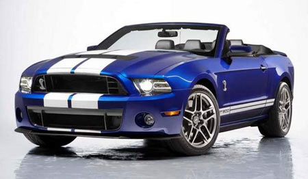Ford plans to unveil its 2013 Shelby Mustang GT500, a sure hit for muscle-car fans, at the show. (Ford)