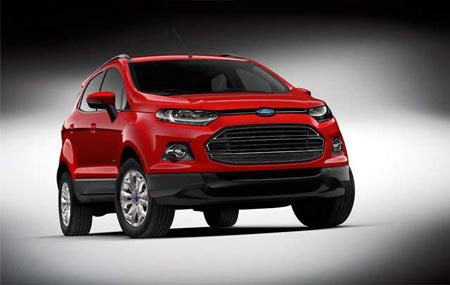 Ford Motor Co. launched three sport utility vehicles for the Chinese market at the Beijing International Automotive Exhibition. (Ford Motor Co.)
