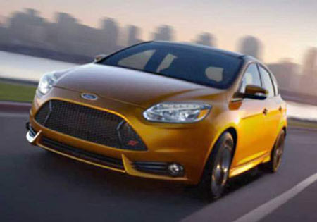 Ford sold more than 1 million Focus cars worldwide last year, topping Toyota Motor's Corolla compact car by more than 147,000 cars. (Ford)