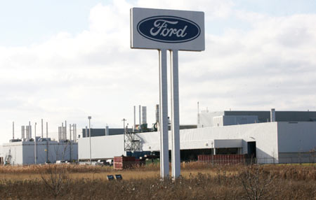 The Ford Essex Engine Plant is seen in this 2010 file photo. (Dan Janisse / The Windsor Star)