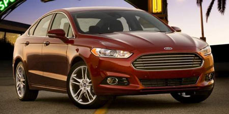Demand for the 2013 Ford Fusion has been the greatest on the coasts in markets such as Los Angeles, San Francisco and Miami. (Ford)