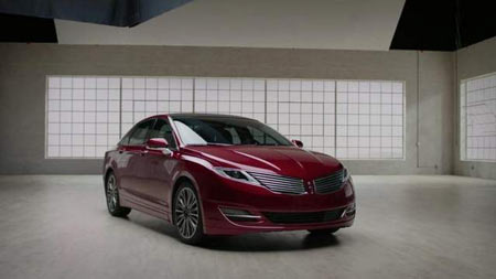 Lincoln introduced the Luxury Uncovered campaign for MKZ on Oct. 9. (Ford)