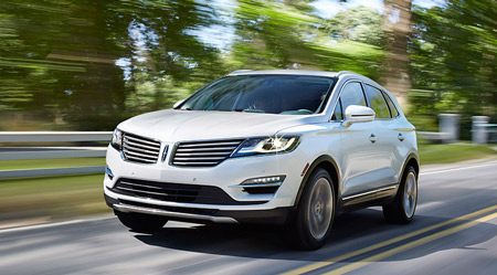 The all-new 2015 Lincoln MKC (Ford)