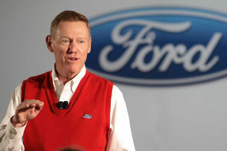 CEO and Chairman Alan Mulally