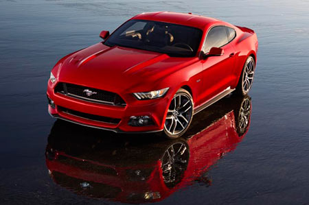 Ford Motor Co.'s 50th-anniversary Mustang won't change radically from the first five generations of the iconic pony car. The 2015 Mustang, which Ford will officially unveil on Dec. 5, 2013 in six cities will pay tribute to the car's rich history. (Ford Motor Company)