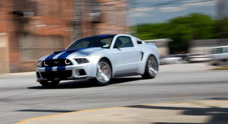 The Ford Mustang will be featured in the 'Need for Speed' film next year. (Ford Motor Co.)