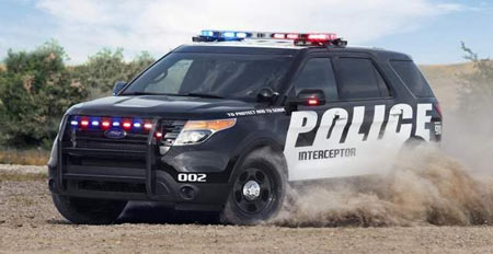 Ford expects police demand to grow more after the announcement today it will offer its 3.5-liter EcoBoost V-6 engine as an option. (Ford)