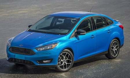 The new Focus has a trapezoidal grille which follows the lead of other Ford cars like the subcompact Fiesta and midsize Fusion. It also comes with a restyled hood and meaner-looking headlights.Ford Focus retains its title as world's best-selling vehicle nameplate for 2013, according to Ford analysis of the just-released full-year Polk new vehicle registration data from IHS Automotive. The news comes as a new Focus four-door sedan prepares to make its debut at next week's 2014 New York International Auto Show. (Ford Motor Company) (Ford photos)