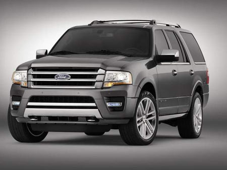 Ford in 2009 began producing its first EcoBoost engine and on Tuesday introduced its refreshed Expedition full-size SUV with a standard 3.5-liter EcoBoost V-6, due out in late 2014. (Ford Motor Co.)