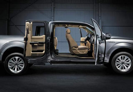 The seats will debut in the 2015 F-150, which arrives at dealers late this year. (Ford)