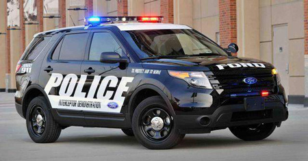 2013 Ford Police Interceptor utility. (Ford)
