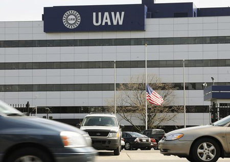 UAW Solidarity House in Detroit.(Photo: Daniel Mears / The Detroit News)