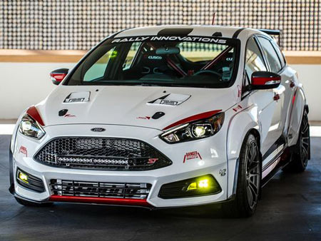 The 2015 Focus ST by Rally Innovations offers inspiration for those looking to upfit their own version of the sporty hatchback.