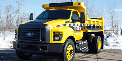 The Ford F 750 TONKA, the ultimate TONKA truck,