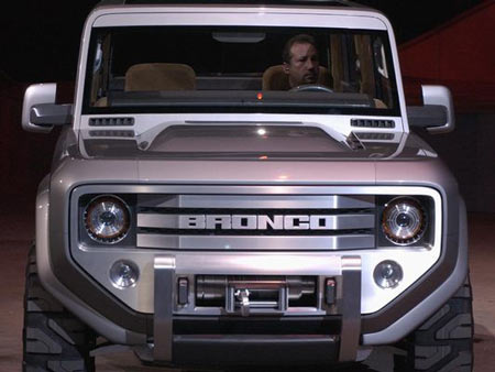 Ford Motor Co. dusted off its Bronco nameplate for a concept vehicle at the 2004 North American International Auto Show. Analysts believe a resurrected Bronco could help Ford take on Jeep.