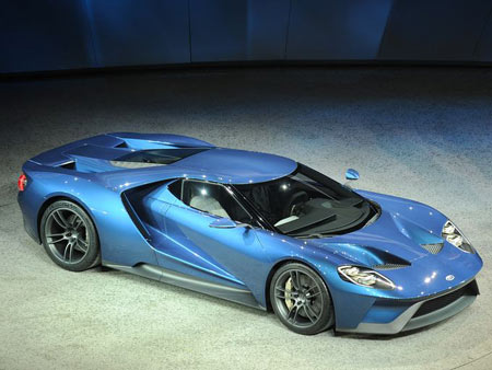 Ford's new GT supercar took Best of Show in the 2015 Detroit News Reader's Choice Awards. The winners are determined by a panel of readers who toured the displays at the North American International Auto Show at Cobo Center in Detroit. (Photo: Bryan Mitchell / Special to The Detroit News)