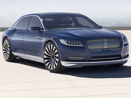 """The Continental is dramatic,"" Brinley said. ""It does move the design language forward quite a bit and it has the opportunity to make quite a statement."""