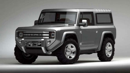 2004 Bronco Concept  (Ford)