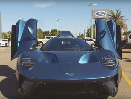 "On Nov. 3, Ford offered to buy back the Liquid Blue GT for the purchase price and said ""they could discuss how to address the profit he received from the unauthorized resale."" (Photo: Youtube)"