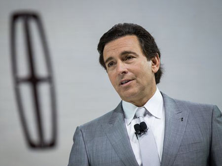 "Mark Fields, 2014-2017. A long time Ford executive who was endorsed by Mulally, Fields led Ford to record sales and profits, but the share price fell 40 percent during his tenure. A regression to an ""Old Ford"" management system and a lack of clarity about the plan for the future also contributed to his ouster.  Drew Angerer, Getty Images"